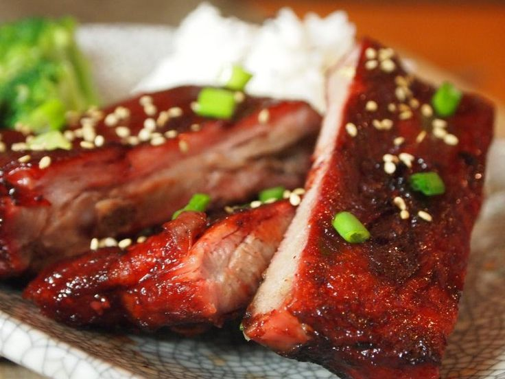 Chinese BBQ Rib Recipe (Char Siu) | Chicken & Pork Recipes | Pinterest