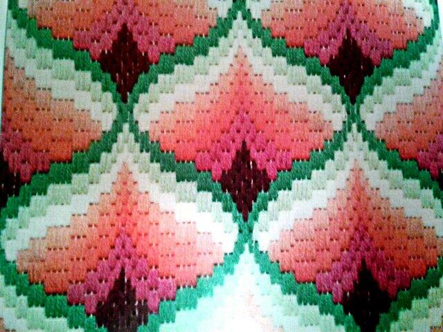 Милые сердцу штучки вышивка барджелло 72