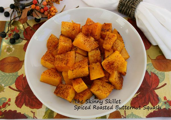 Spicy Roasted Butternut Squash | EATS | Pinterest