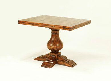 9779 rectangle to oval pedestal table diy pinterest - Rectangular pedestal kitchen table ...