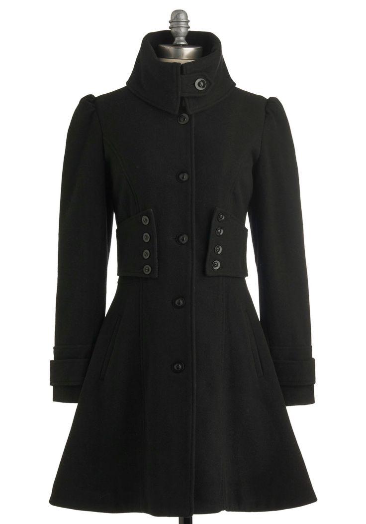 black coat perfection.