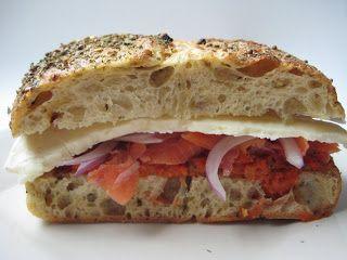 Smoked Salmon & Brie Sandwich | Yum | Pinterest