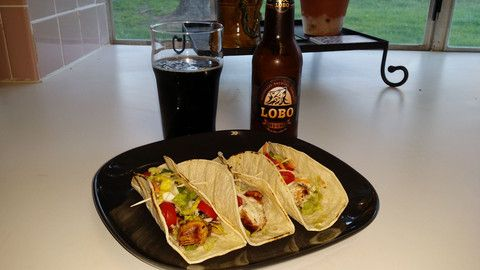 favorite Chicken Taco recipes. I let the chicken soak in the marinade ...