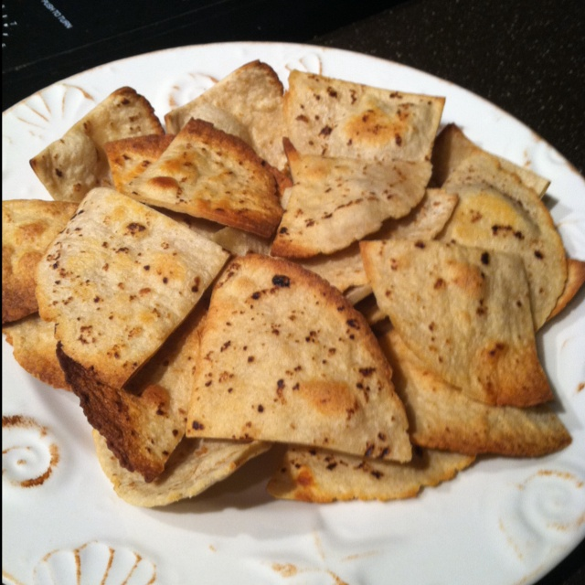 Homemade baked tortilla chips #Chips #Dips #Salsa #Potato #Kettle # ...