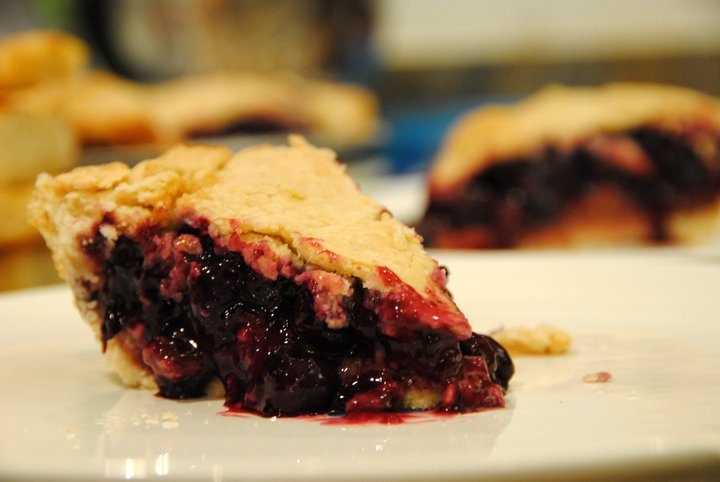 Blueberry and maple syrup pie. | Food I cooked | Pinterest