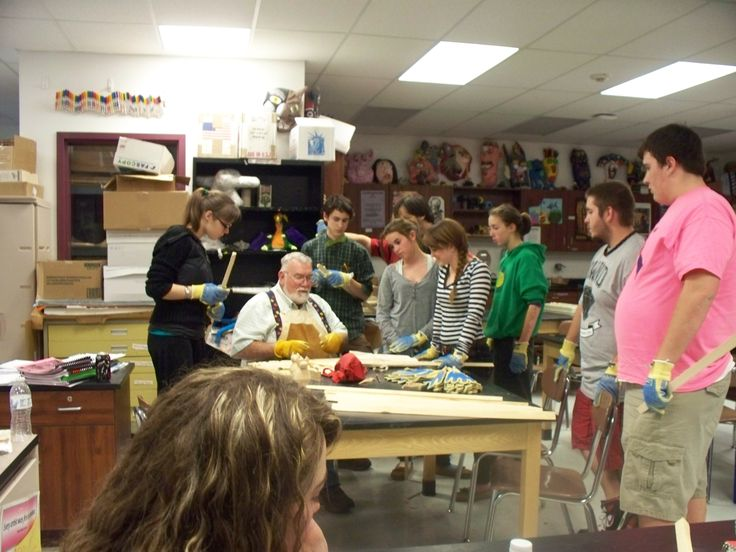 wood carving workshop | Art Club Projects | Pinterest