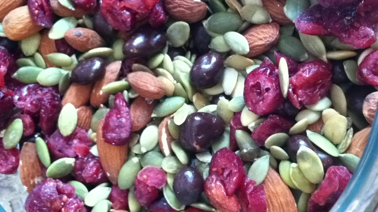 cranberry pumpkin seed trail pumpkin seed trail mix beard a sweet ...