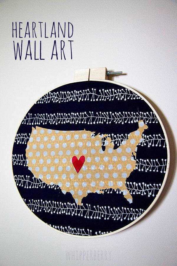 Heartland Wall Art from WhipperBerry