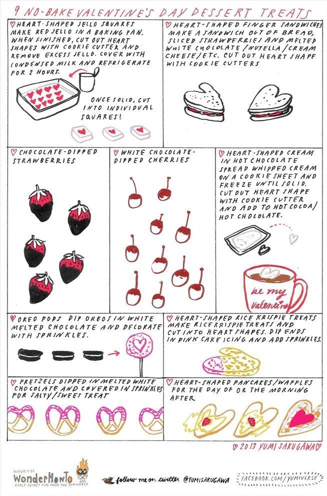 easy valentine baking recipes