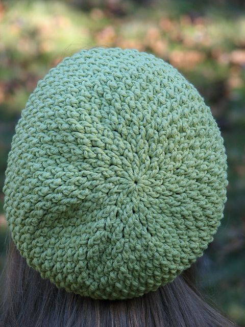 Free Crochet Patterns Slouchy Beret : Adult Textured Slouchy Beret pattern by Kristine Mullen