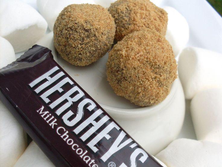 Mores Truffles | Desserts | Pinterest