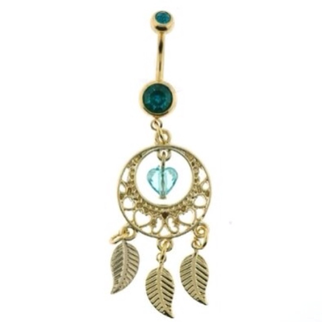 pin dreamcatcher belly button rings tumblr on pinterest