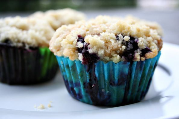 Browned Butter Blueberry Muffins | Yum, yum, yummy | Pinterest