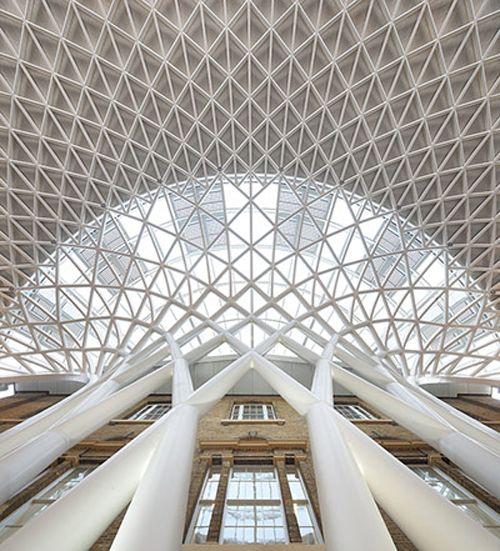 King's Cross Concourse vs British Museum Courtyard