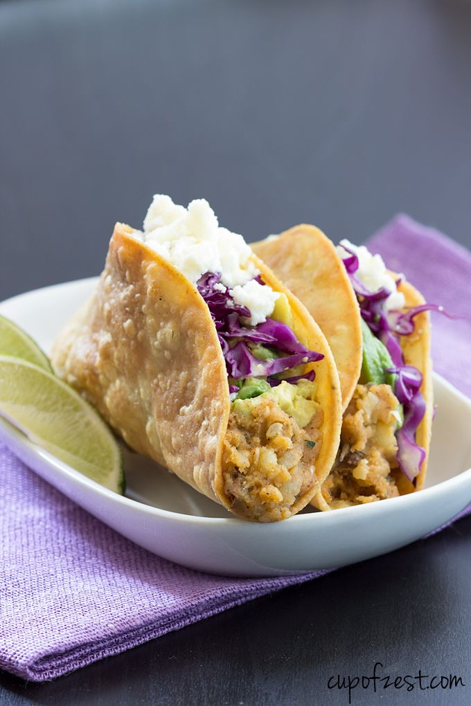 ... avocado, cabbage, and queso fresco makes this recipe great for