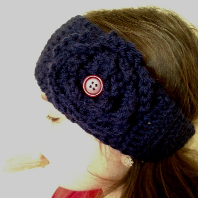 Crocheted Ear Warmer DIY crafts Pinterest