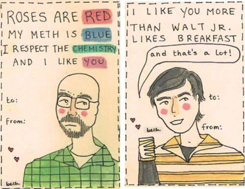 Breaking Bad valentines