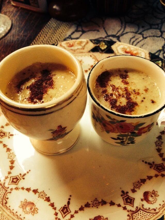 Eggnog Cups | Mama Xanadu's | Pinterest