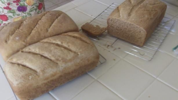 Basic Whole Wheat Bread from Food.com: A simple, easy whole wheat ...
