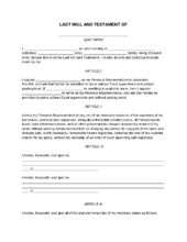 How to write a testament