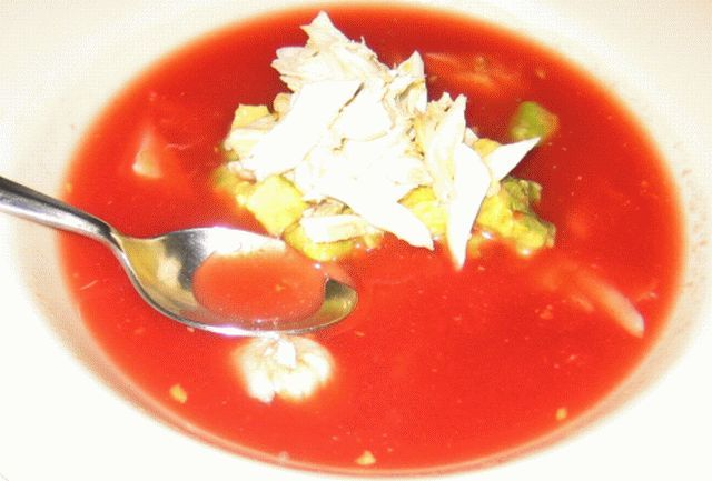 Chilled watermelon soup | Chilled Summer Soups | Pinterest