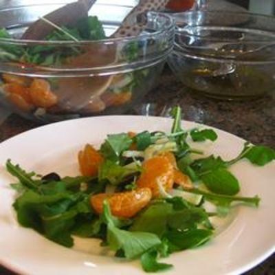Arugula, Fennel, and Orange Salad | Food | Pinterest