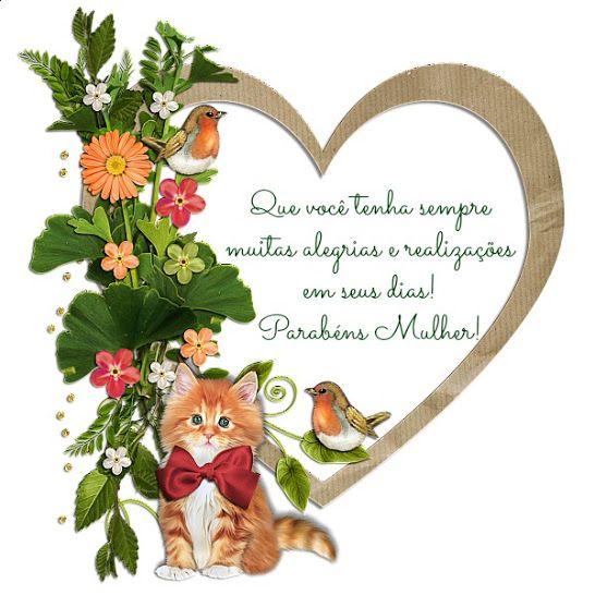 Feliz Dia Internacional da Mulher!!! | Pensamentos | Pinterest
