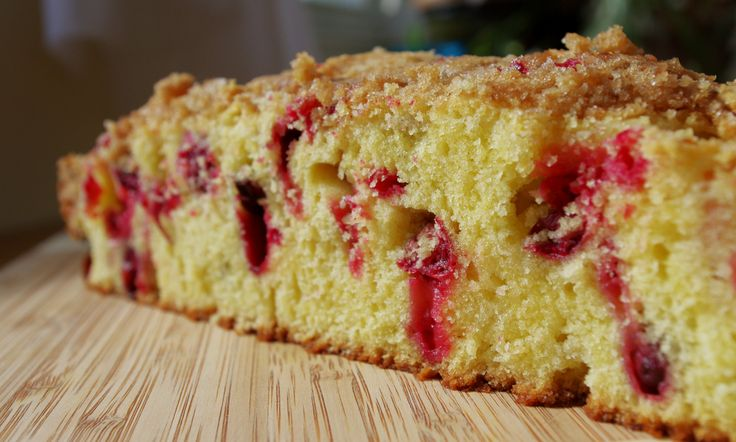 Cranberry Crumb Coffee Cake | Food - Sweets | Pinterest