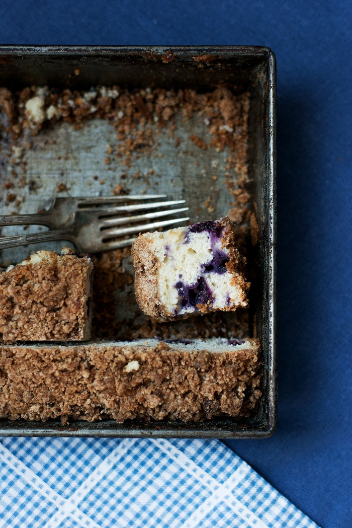 Blueberry Buttermilk Coffee Cake | bsinthekitchen.com #dessert #coffee ...