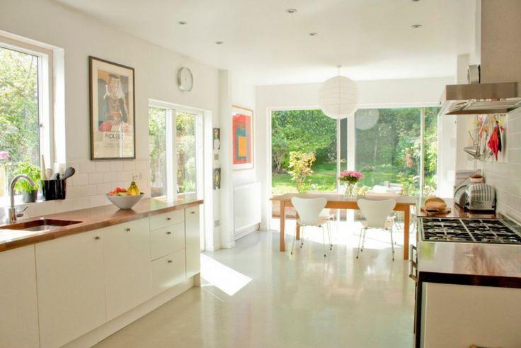Mid Century Modern Kitchen Home Design Pinterest