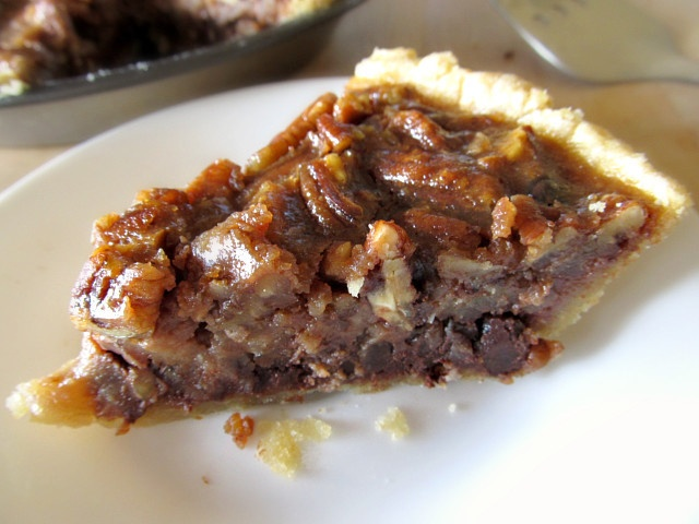 Bourbon Pecan Chocolate Pie | Drinks, Eats & Sweets | Pinterest