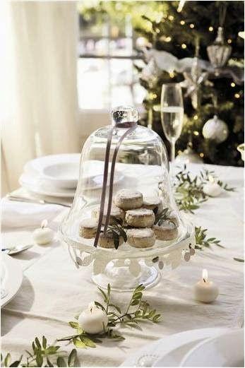 Inspirações decoração párrafo da mesa de Natal !!