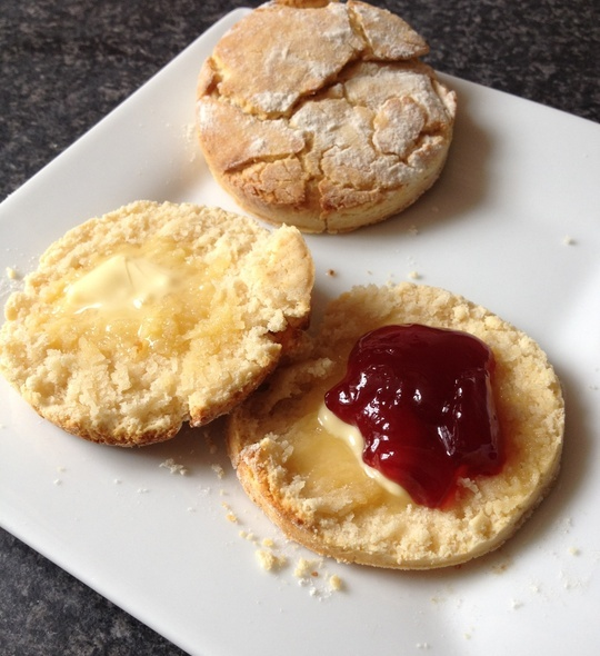 How to Make Gluten-Free English Scones by Valerie Birss