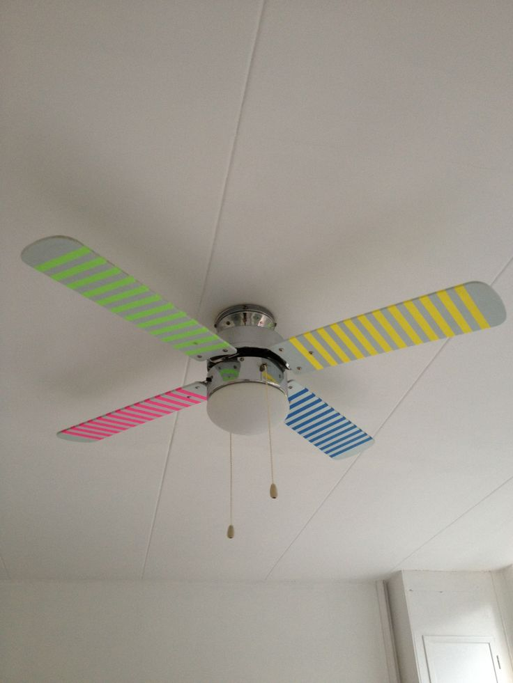 Rainbow Ceiling Fan : Rainbow color ceiling fan related keywords