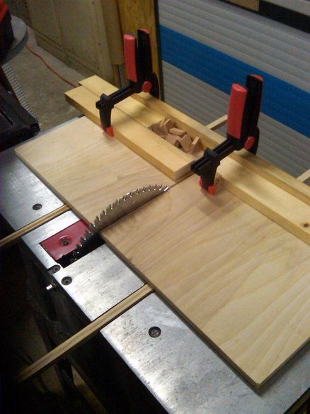 Table saw sleds table saw cross cut sleds pinterest for Table saw sled