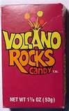 Volcano Rocks Candy!