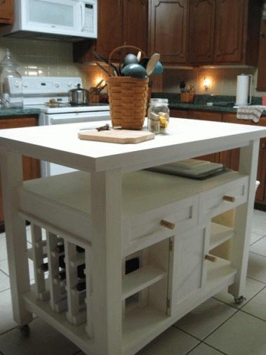 Diy Kitchen Island Kitchen Pinterest