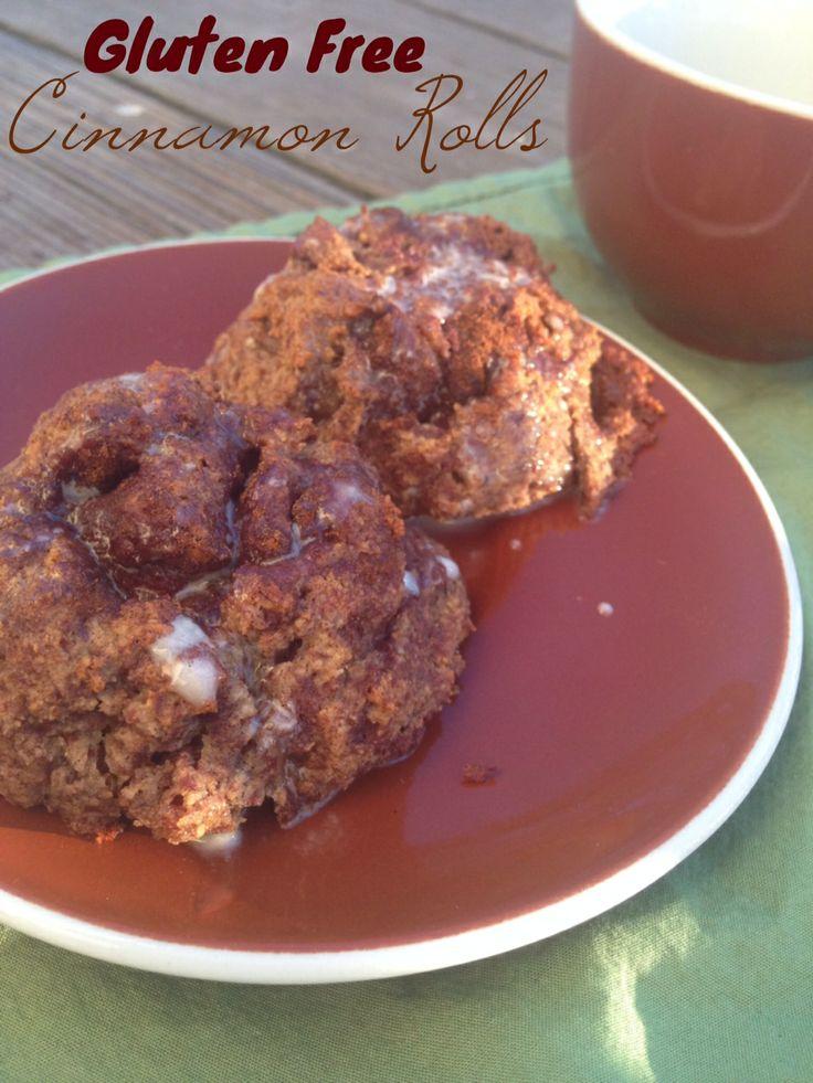 Gluten Free Cinnamon Rolls | g-free num-nums | Pinterest