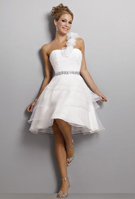 Haute couture short wedding dress pinterest for Couture short wedding dresses