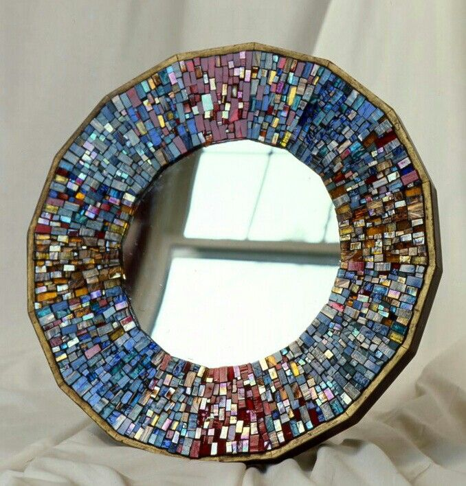 Mirror mosaic pinterest for Mosaic mirror