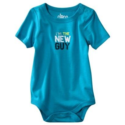 Circo® Newborn Boys Im The New Guy Bodysuit -