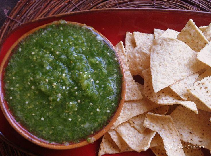 Tomatillo Mary Recipes — Dishmaps