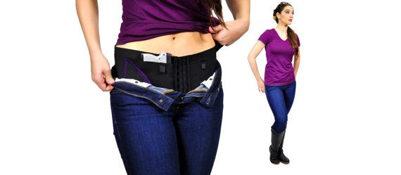 Concealed Carry Hip Hugger Holster for Women by CanCanConcealment, $79