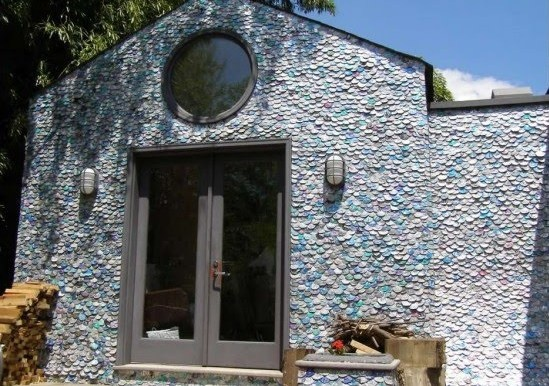 House made of aluminum cans