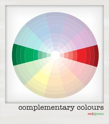 Complementary Colours Red Green Colors Pinterest