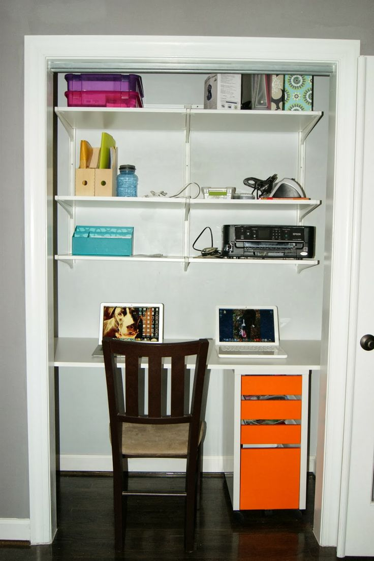 projects building a closet desk for the home pinterest