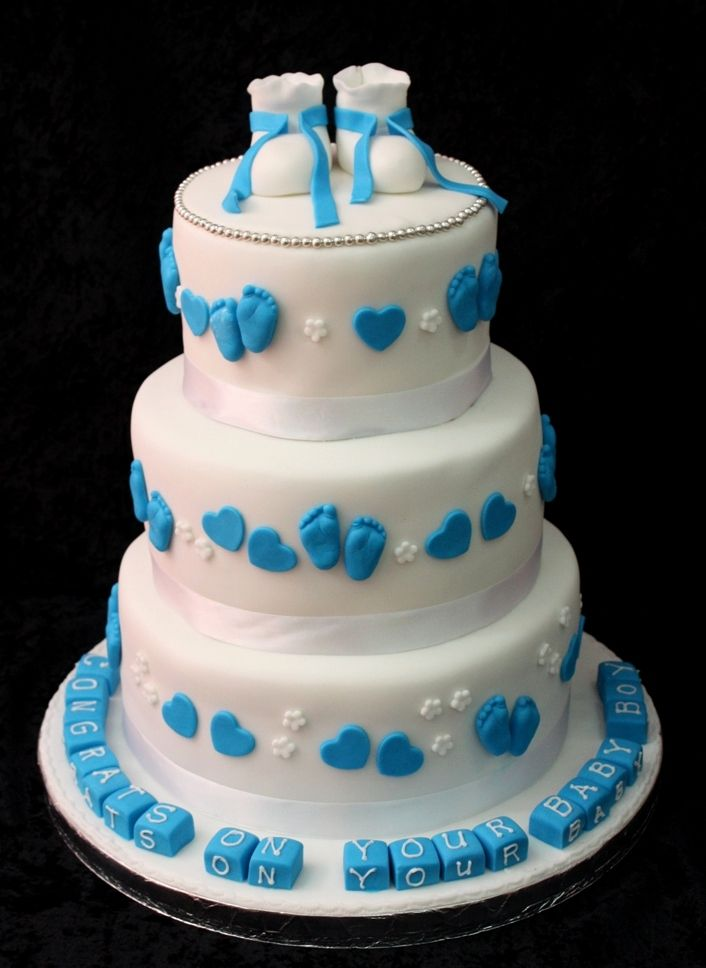 baby boy cakes - Google Search Cakes Pinterest