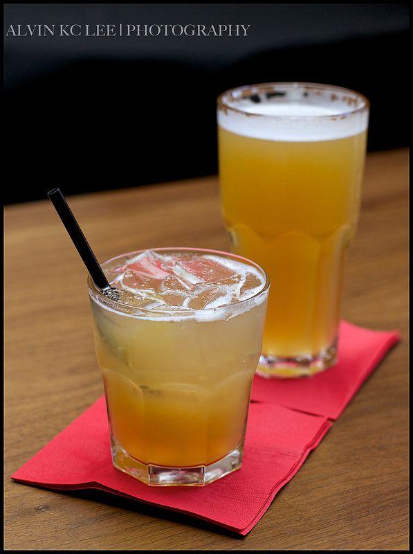 Whiskey Sour Cocktail With Fresh Lemon Recipe — Dishmaps