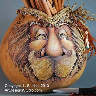 Free gourd painting patterns umber acrylic craft for Gourd carving patterns