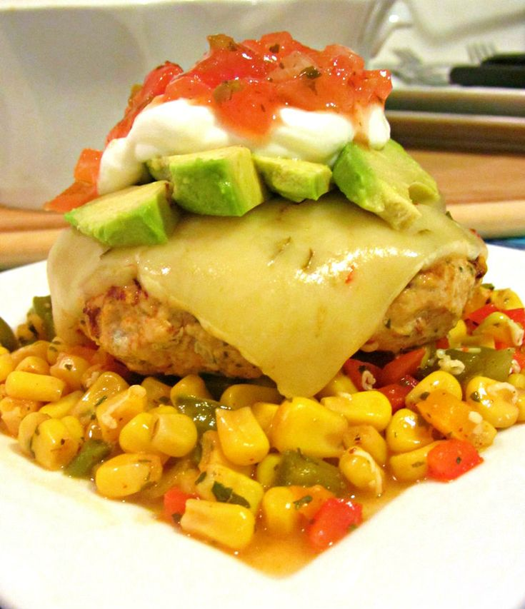 Southwestern Turkey Burgers - This light & lean burger is made with ...